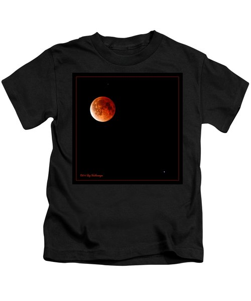 Lunar Eclipse April 15  2014 Kids T-Shirt
