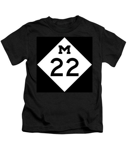 M 22 Kids T-Shirt