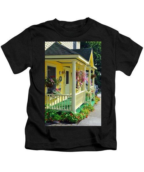 Mackinac Island Americana Kids T-Shirt