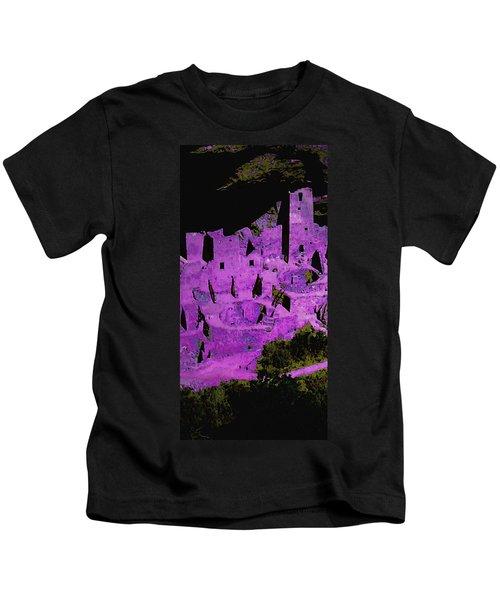 Magenta Dwelling Kids T-Shirt