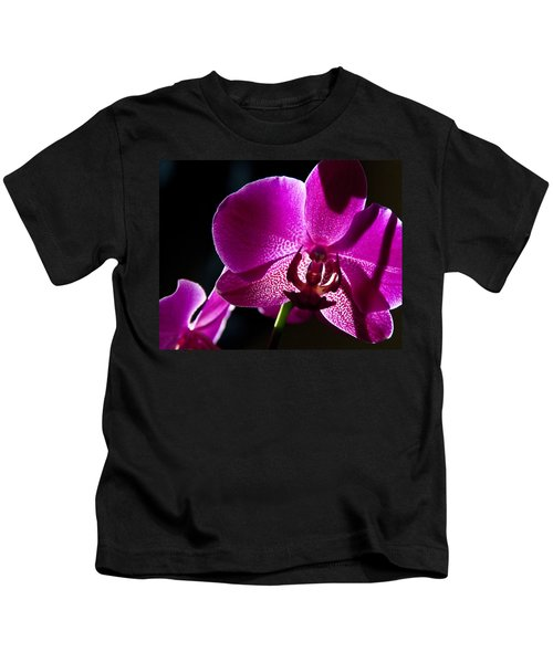 Magenta Orchid Kids T-Shirt