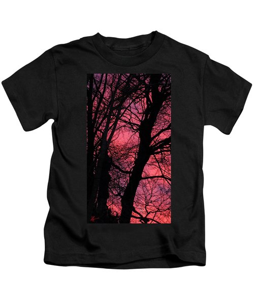 Kids T-Shirt featuring the photograph Magic Sunset  by Colette V Hera  Guggenheim