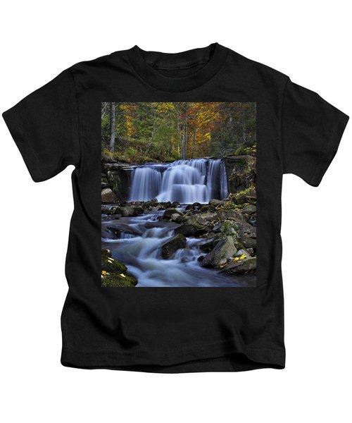 Magnificent Waterfall Kids T-Shirt