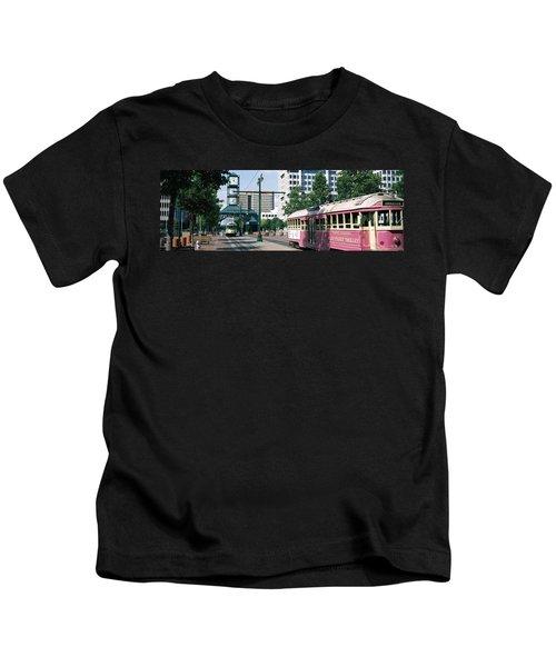 Main Street Trolley Memphis Tn Kids T-Shirt