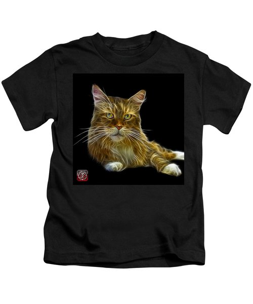 Maine Coon Cat - 3926 - Bb Kids T-Shirt