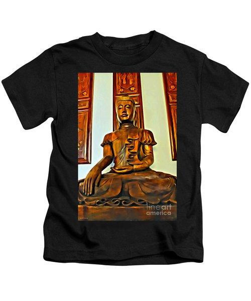 Majestic Buddha Kids T-Shirt