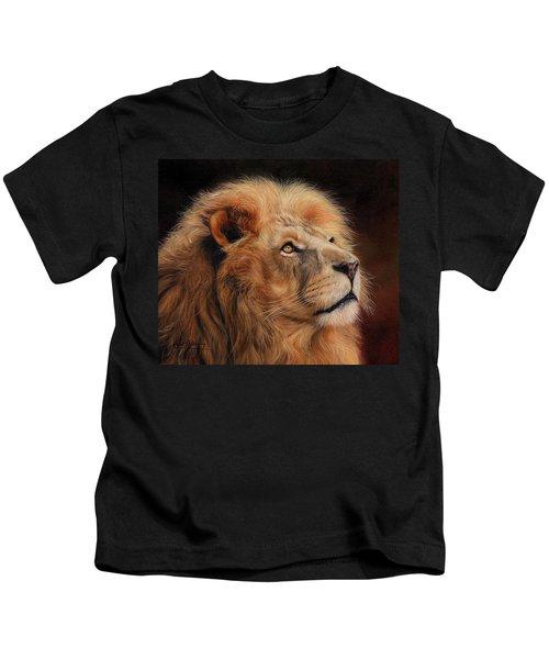Majestic Lion Kids T-Shirt