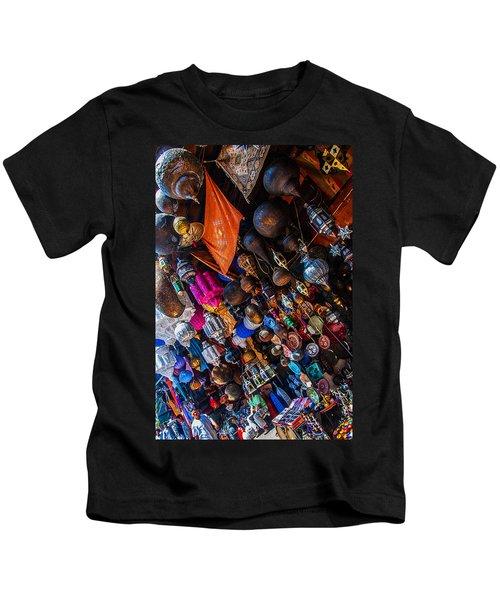 Marrakech Lanterns Kids T-Shirt