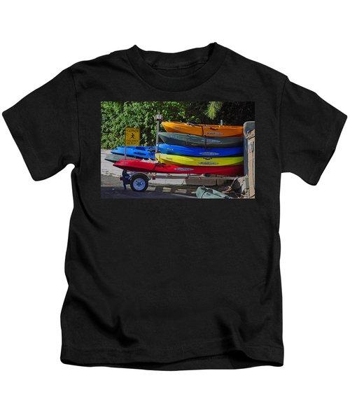 Malibu Kayaks Kids T-Shirt