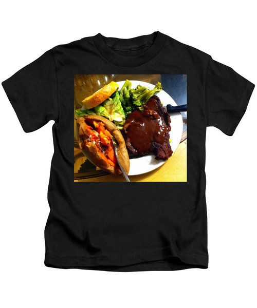 Man Food Kids T-Shirt
