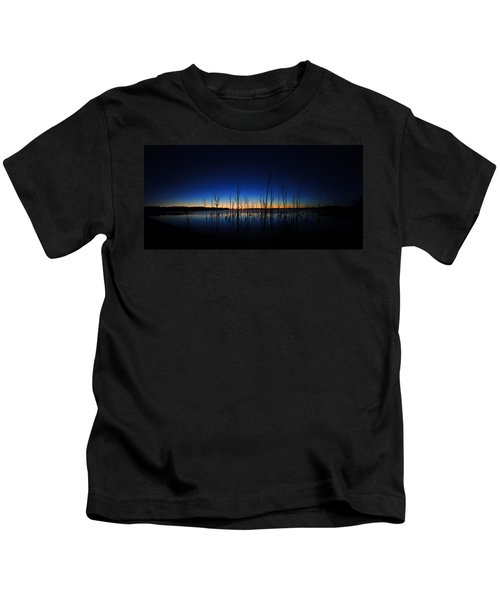Manasquan Reservoir At Dawn Kids T-Shirt