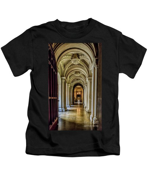 Mansion Hallway Kids T-Shirt