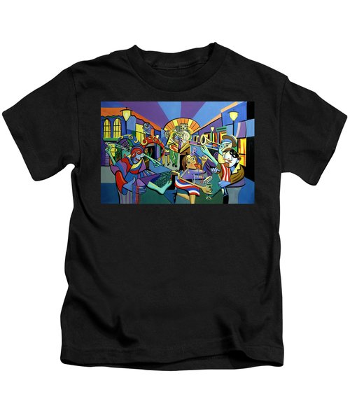 Mardi Gras Lets Get The Party Started Kids T-Shirt