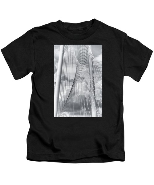 Margaret Hunt Hill Bridge Kids T-Shirt