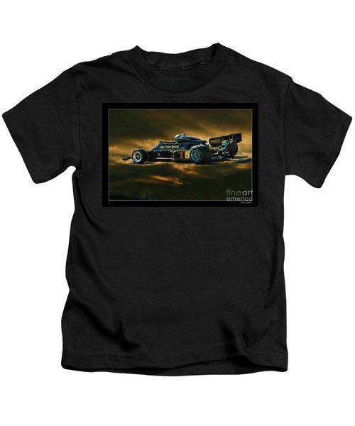 Mario Andretti John Player Special Lotus 79  Kids T-Shirt