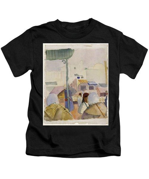 Market In Tunis II Kids T-Shirt