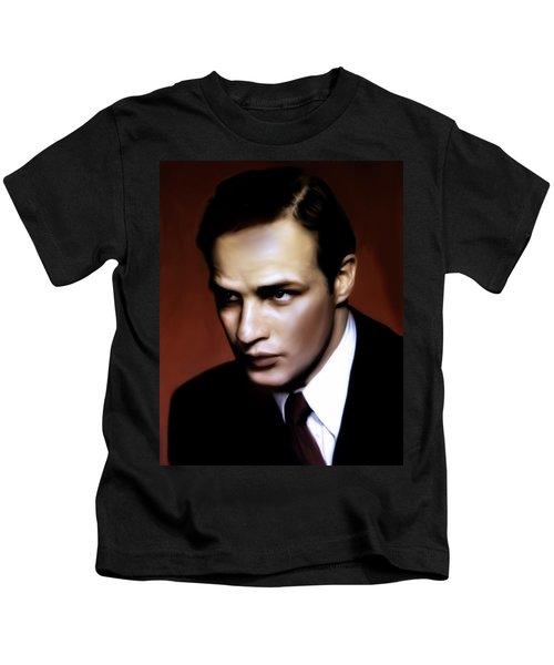 Marlon Brando Tribute Kids T-Shirt