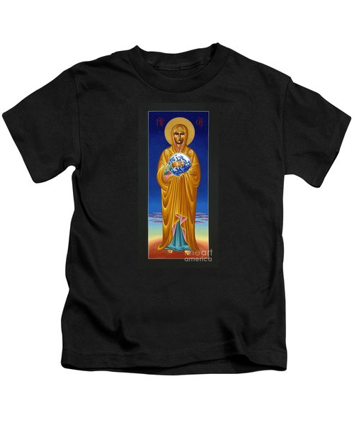 Mary Most Holy Mother Of All Nations 080 Kids T-Shirt