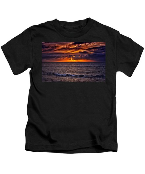 Maui Sunset Kids T-Shirt