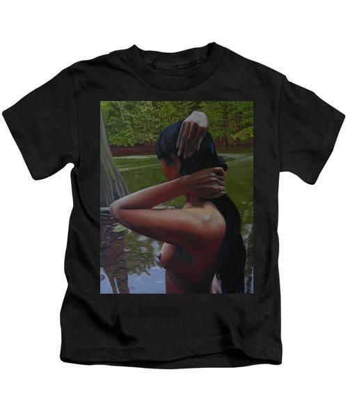 May Morning Arkansas River 6 Kids T-Shirt