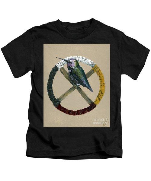 Medicine Wheel Kids T-Shirt