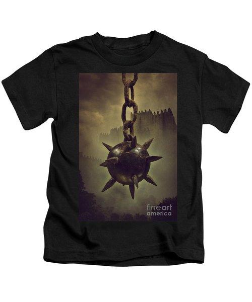 Medieval Spike Ball  Kids T-Shirt