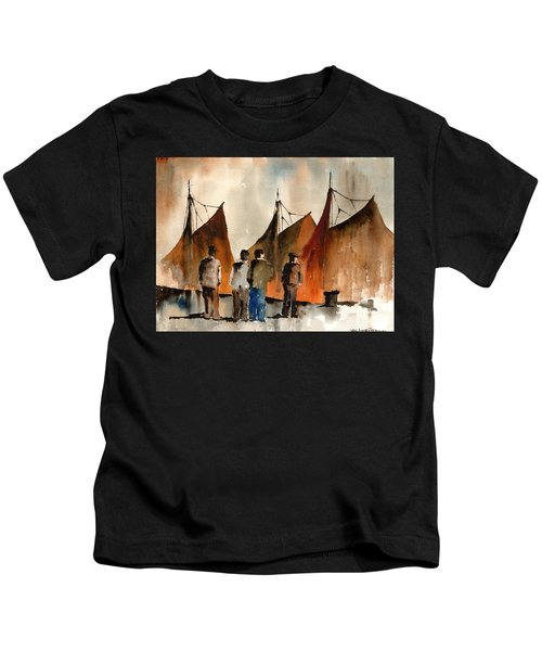 Men Looking At Hookers  Galway Kids T-Shirt