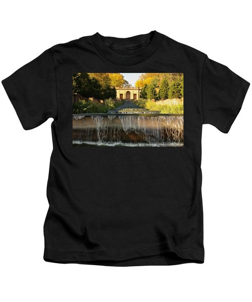 Meridian Hill Park Waterfall Kids T-Shirt