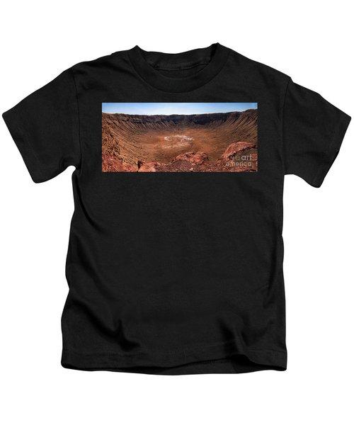 Meteor Crater Kids T-Shirt