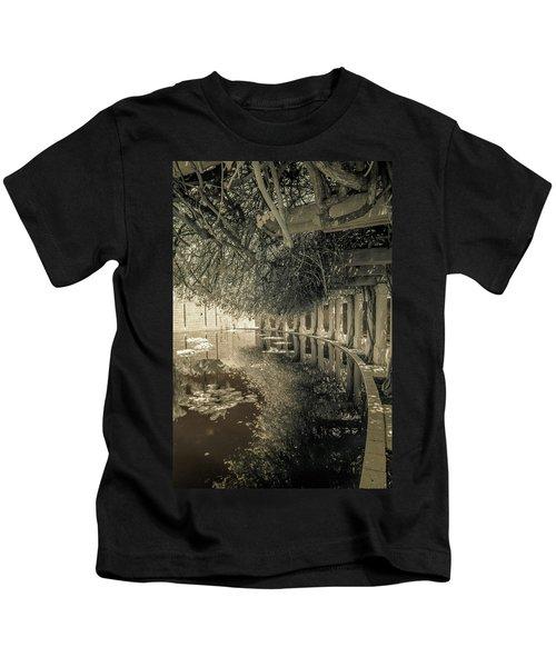 Miami Beach Lake 2 Kids T-Shirt