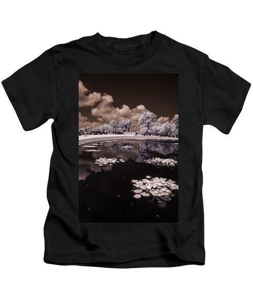 Miami Beach Lake Kids T-Shirt