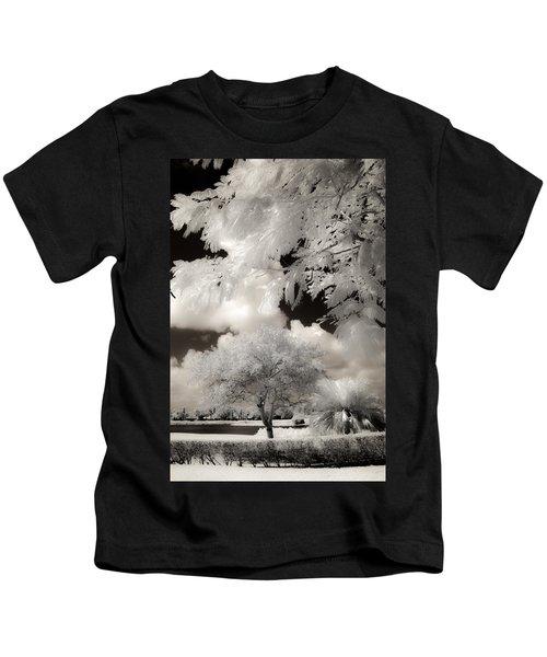Miami Beach Park Kids T-Shirt