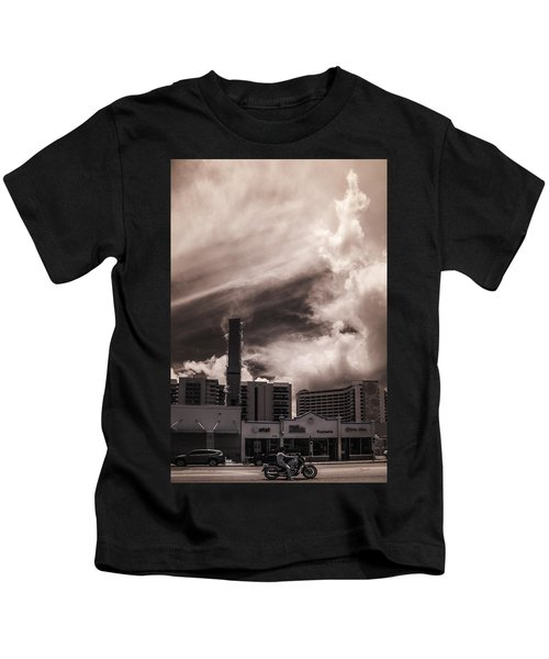 Miami Beach Sky Kids T-Shirt