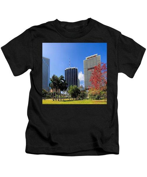 Miami Cityscape   Kids T-Shirt