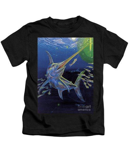 Midnight Encounter Off0023 Kids T-Shirt