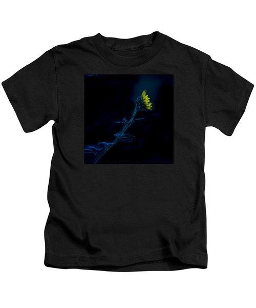 Midnight Sunflower Kids T-Shirt