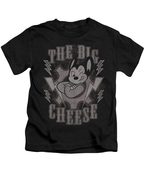 Mighty Mouse - The Big Cheese Kids T-Shirt by Brand A