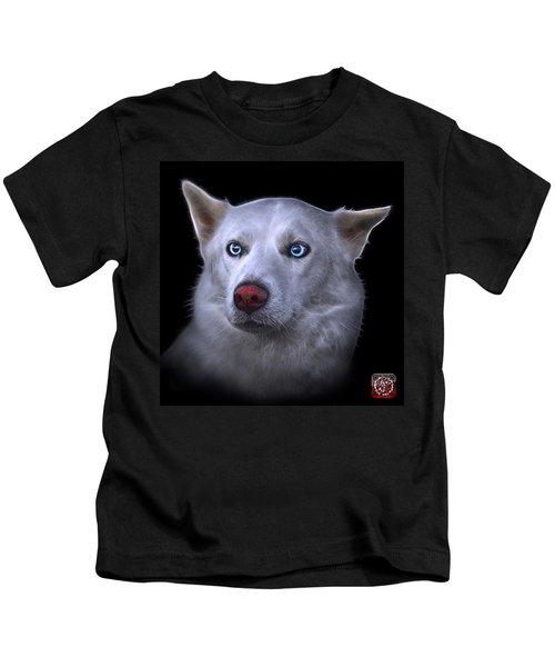 Mila - Siberian Husky - 2103 - Bb Kids T-Shirt