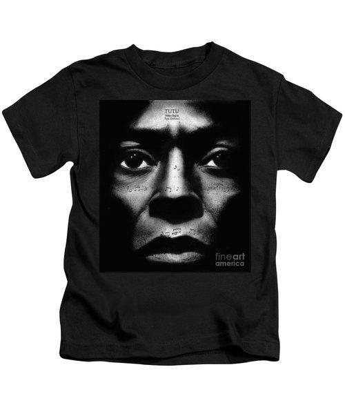 Miles Davis Tutu Kids T-Shirt