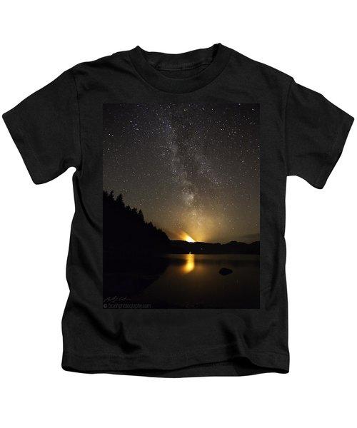 Milky Way At Crafnant 2 Kids T-Shirt