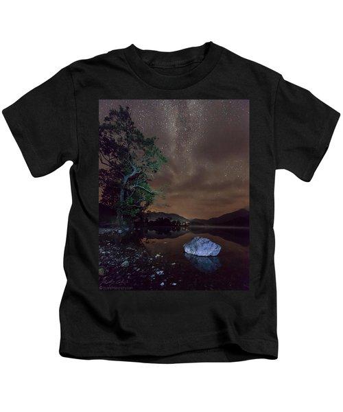 Milky Way At Gwenant Kids T-Shirt