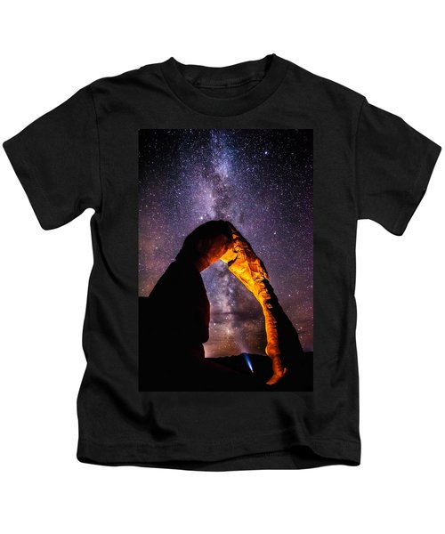 Milky Way Explorer Kids T-Shirt