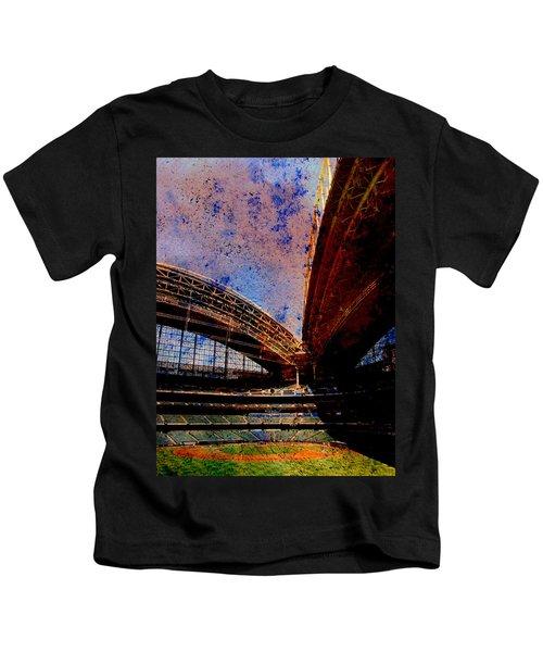 Miller Park 2 W Paint Kids T-Shirt