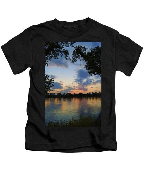 Missouri River Glow Kids T-Shirt