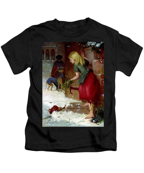 Mistletoe Seller Kids T-Shirt