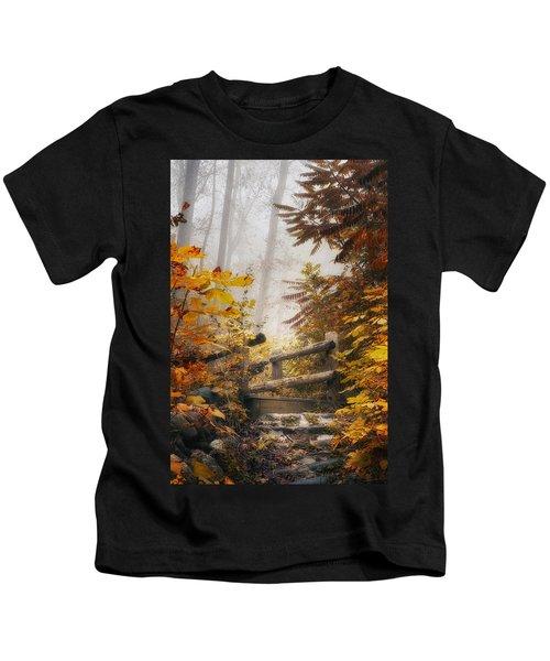 Misty Footbridge Kids T-Shirt