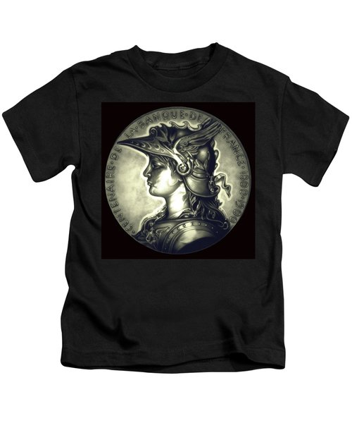 Misty Midnight Black Marianne Kids T-Shirt