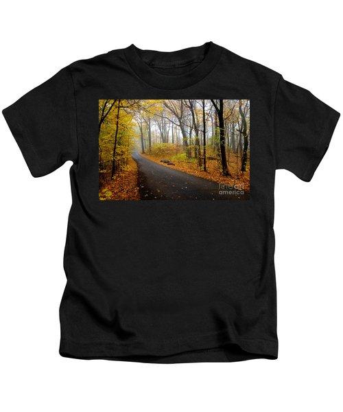 Misty Minnesota Mile Kids T-Shirt