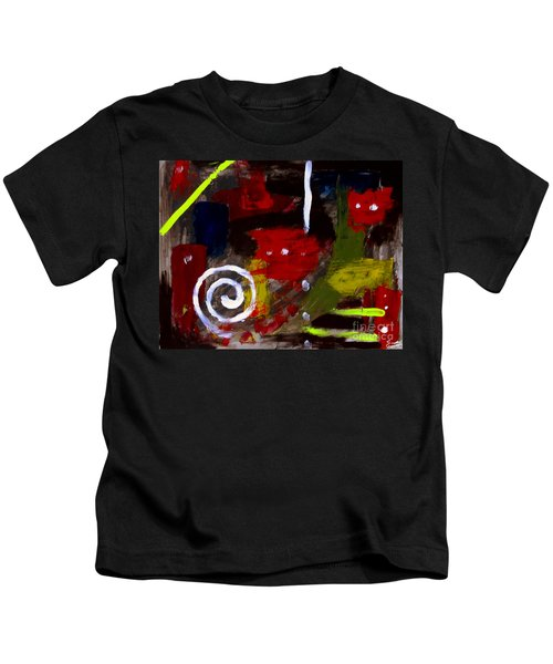Modern Cave Art Kids T-Shirt