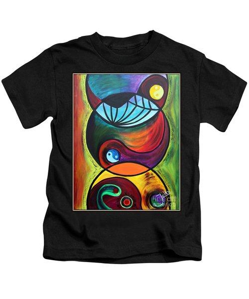 Molecules Of Emotion Kids T-Shirt